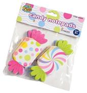 Candy Notepads (Include 12 Units)