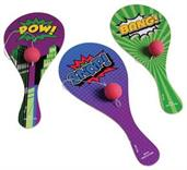 Superhero Paddle Balls (Include 12 Units)