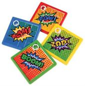 Superhero Slide Puzzles/8-Pc (Include 8 Units)