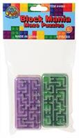 Block Mania Maze Puzzles/6-Pc (Include 6 Units)
