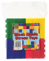 Block Mania Stress Toys (Include 12 Units)