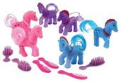 Pony With Comb/6-Sets (Include 6 Units)