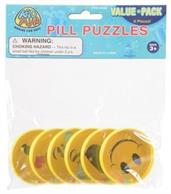 Emoticon Pill Puzzles/6-Pc (Include 6 Units)