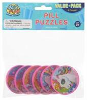 Unicorn Pill Puzzles/6-Pc (Include 6 Units)