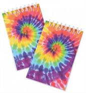 TIE DYE NOTEBOOKS/8-PC (include 8 units)