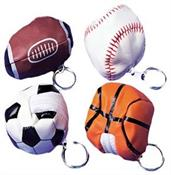 Sports Pouch Keychains (Include 12 Units)