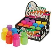 Neon Mini Bubbles (Include 12 Units)