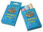 Sidewalk Chalk/3-Bx (Include 12 Units)