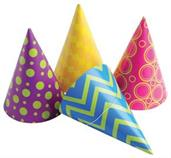 PARTY PAPER HATS (include 12 units)
