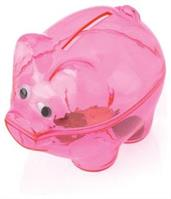 Pink Piggy Banks (Include 12 Units)
