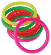 Neon Carnival Rings/2.75 Inch (Include 12 Units)