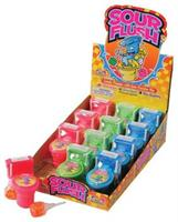 Sour Flush Candy Powder/12 Pc (Include 12 Units)