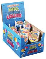 Mega Double Lollies/24-Pc (Include 24 Units)