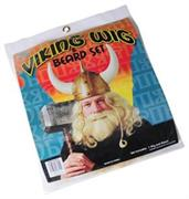 Viking Wig & Beard Set (Include 1 Units)