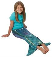 Mermaid Tail Costume (Include 1 Units)