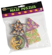 Halloween Candy Maze Puzzles (Include 12 Units)