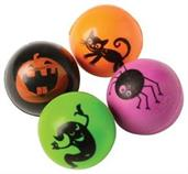 Halloween Bounce Balls 27Mm/8-Pc (Include 8 Units)