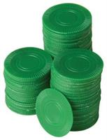 Green Poker Chips/100-Pc (Include 100 Units)