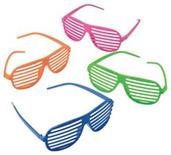 Neon Toy Shutter Shades (Include 12 Units)