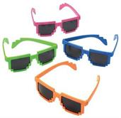 Neon Robot Glasses (Include 12 Units)