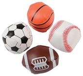 Mini Sports Balls (Include 12 Units)