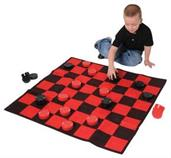 Checkboard Rug Set (Include 1 Units)