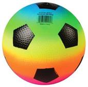 Rainbow Pvc Soccerballs/6 In (Include 12 Units)