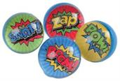 Superhero Bounce Balls/32Mm (Include 12 Units)