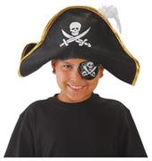 Pirate Hat W/Feather (Include 1 Units)