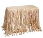 Raffia Table Skirt (Include 1 Units)
