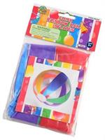 Rainbow Ball Inflates/16 In/12 In Di (Include 12 Units)
