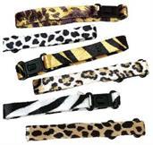 Animal Print Plush Bracelets (Include 12 Units)