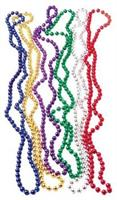 Metallic Bead Necklaces/Asst (Include 12 Units)