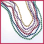 Metallic Bead Necklaces/6Mm (Include 144 Units)