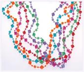 Pearlized Diamond Bead Necklaces (Include 12 Units)