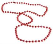 Met Red Beads 12/4-Pk Hang Tag (Include 12 Units)