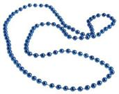 Met Blue Beads/12/4-Pk Hang Tag (Include 12 Units)