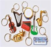 Musical Instrument Keychains (Include 12 Units)