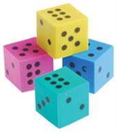 Dice Erasers (Include 144 Units)