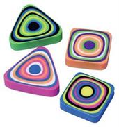 Swirl Erasers (Include 12 Units)