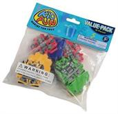 Battle Bot Erasers (Include 12 Units)