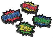 Superhero Erasers (Include 12 Units)
