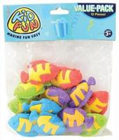 Tropical Fish Erasers (Include 12 Units)