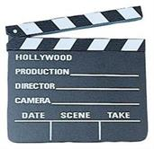 Hollywood Clap Board (Include 1 Units)