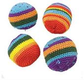 Rainbow Kickballs (Include 12 Units)