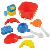 Sand Castle Bucket Set/8-Pc (Include 1 Units)