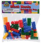 Block Mania Bricks/50-Pc (Include 50 Units)