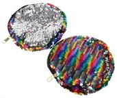 Rainbow Sequins Coin Purse (Include 1 Units)