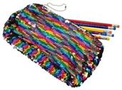 Rainbow Sequins Pencil Case (Include 1 Units)