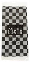 Plastic Table Cover/B&W Check (Include 1 Units)